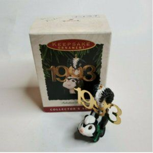 1993 Hallmark Keepsake Ornament Fabulous Decade